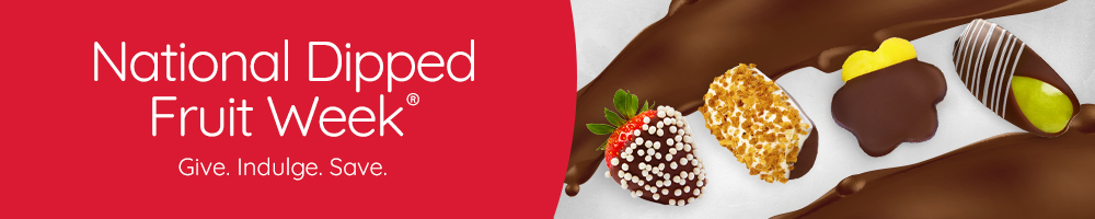 Chocolate Dipped Fruit Sale