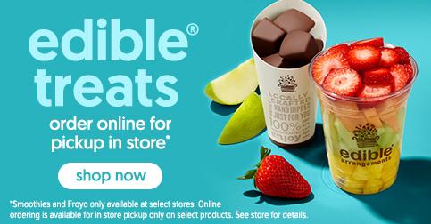 Edible To Go Fresh Fruit treats
